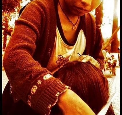 Bolivia hair braiding