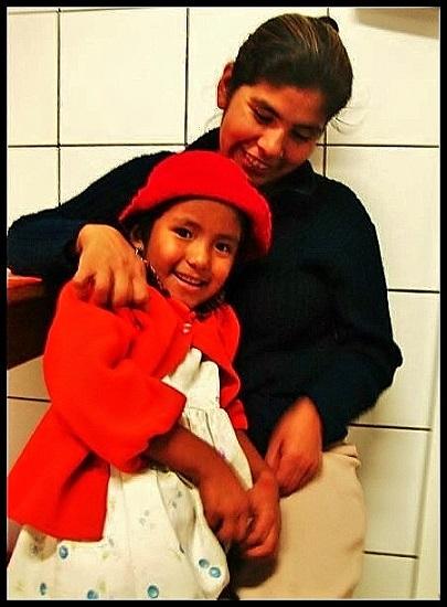 red girl bolivia